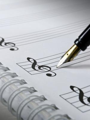 """Writing Music"" Image courtesy of Grant Cochrane / FreeDigitalPhotos.net"